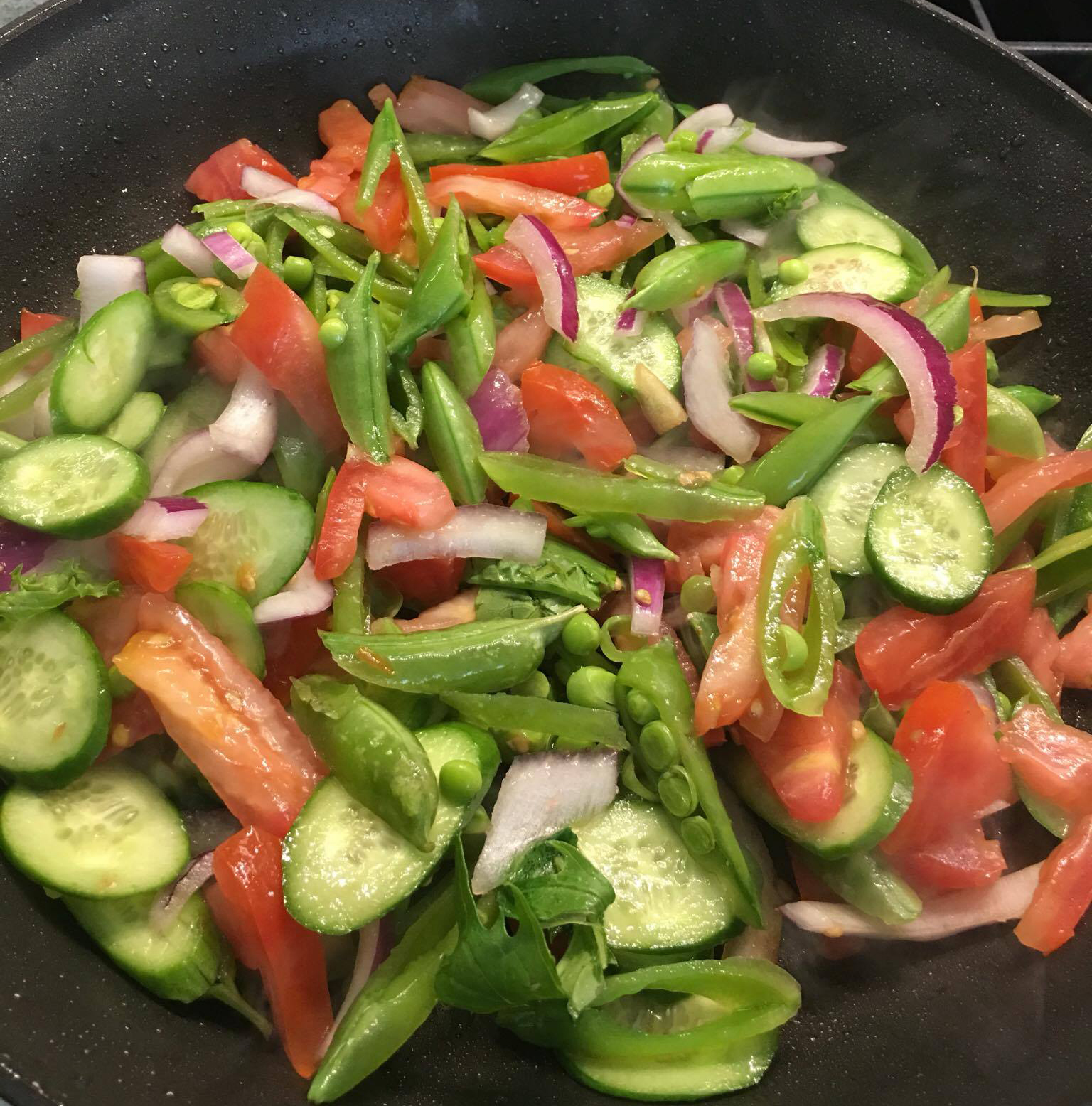Stir Fried Salad
