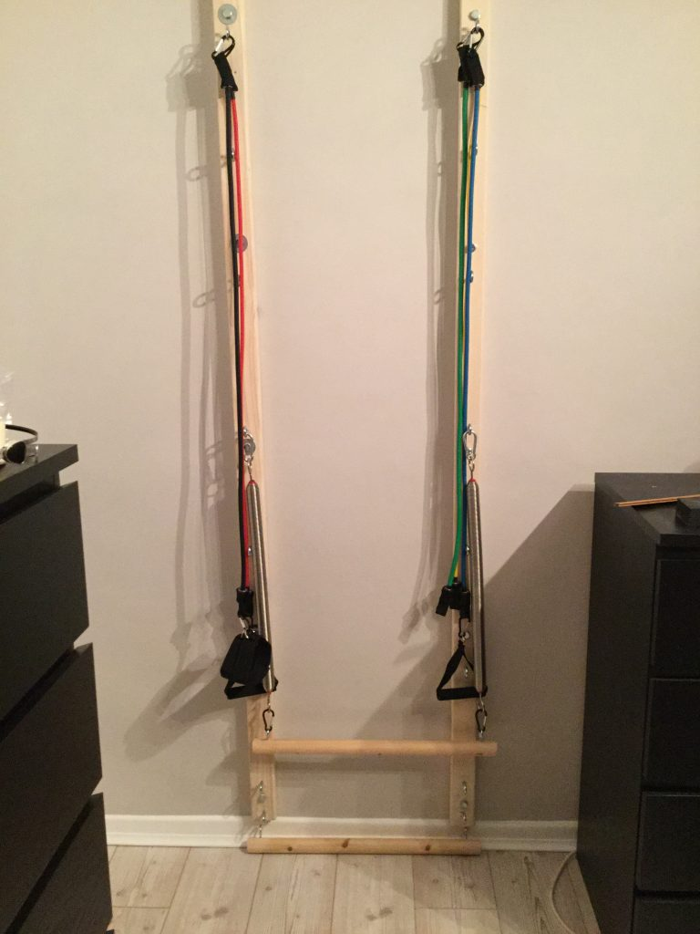 DIY Wall Pilates System