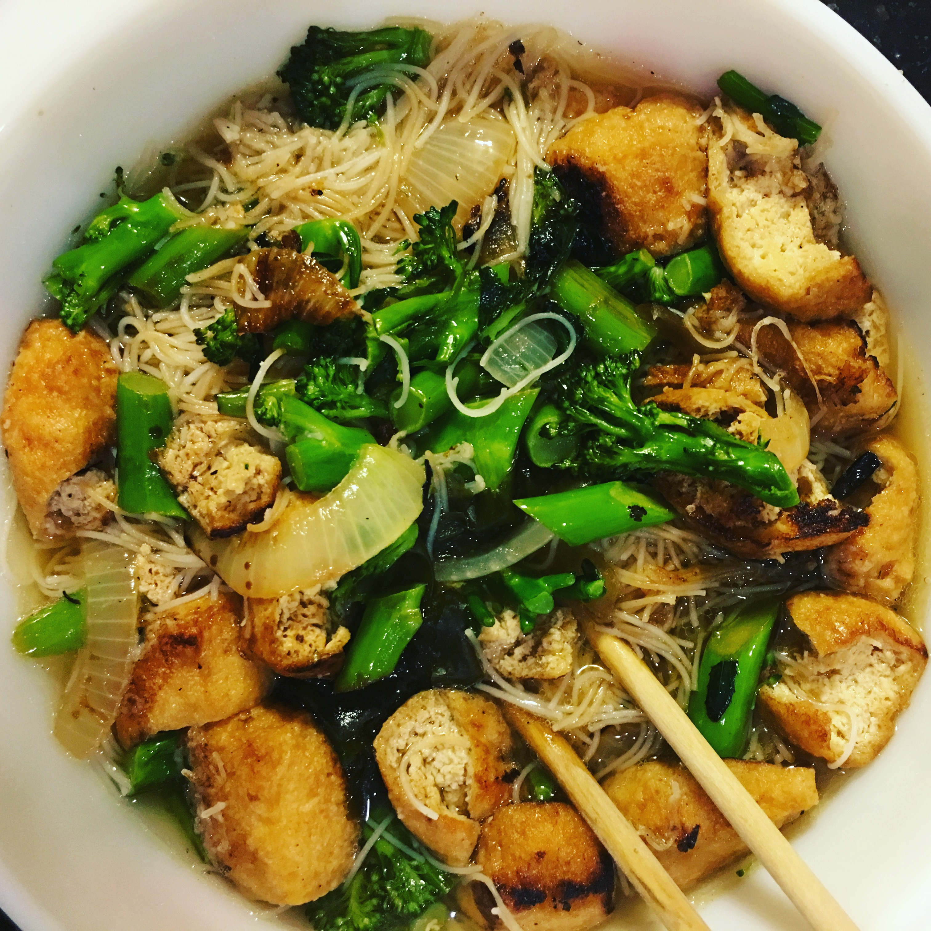 Asian Vegan Noodle Soup
