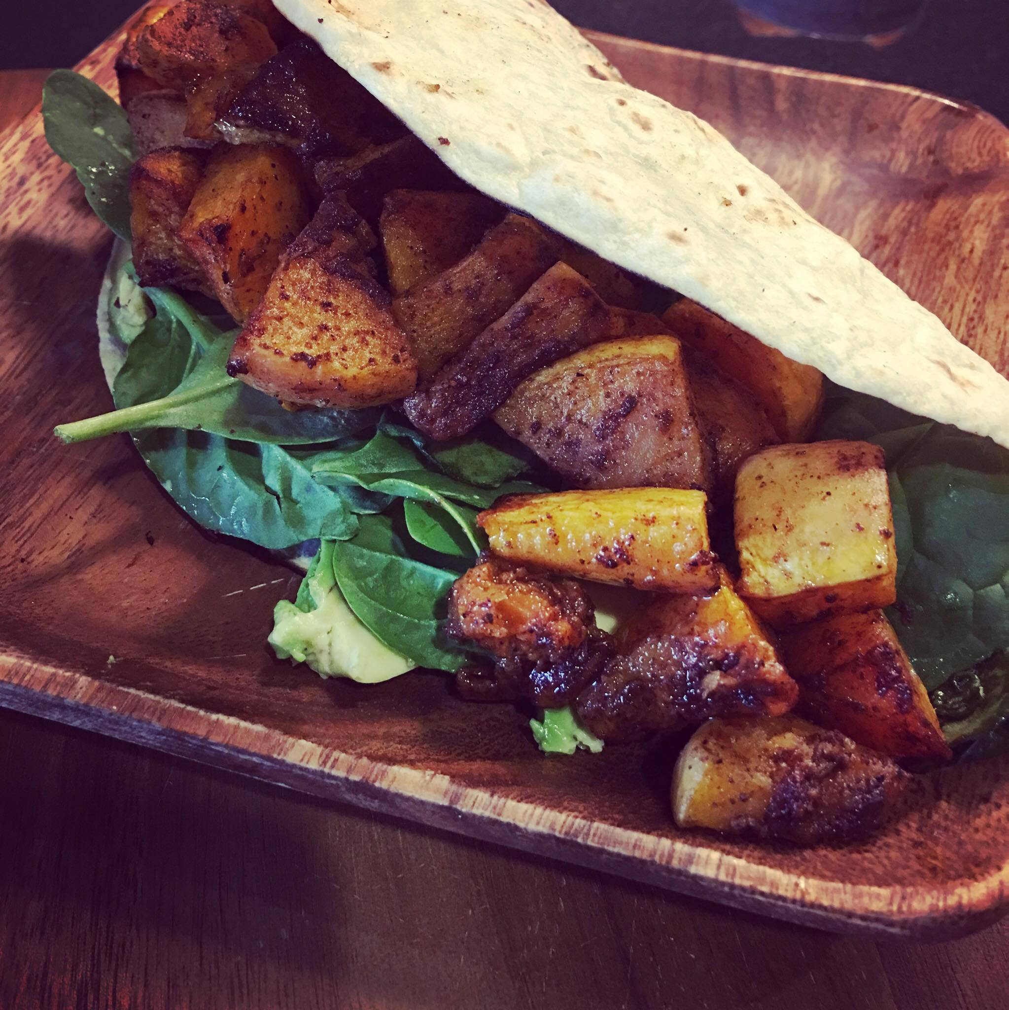 Roasted Butternut Squash Taco